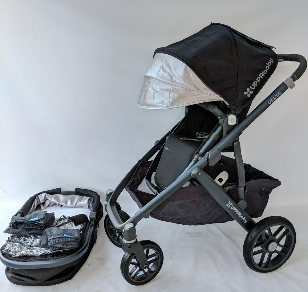 UPPABABY vista stroller jake black uppababy Uppababy