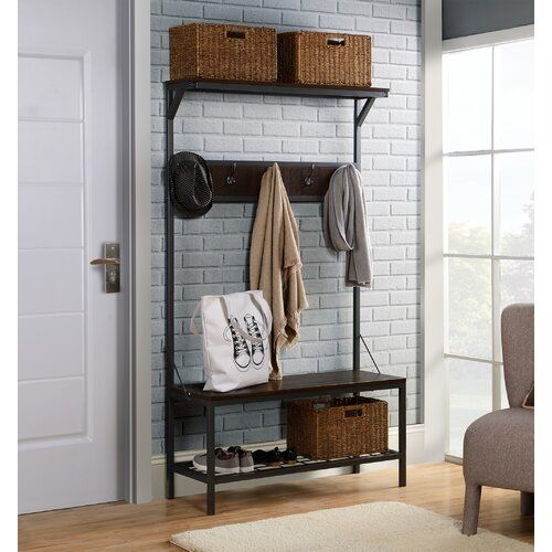 Michelle Hall Tree Furniture Shelves Storage Spaces