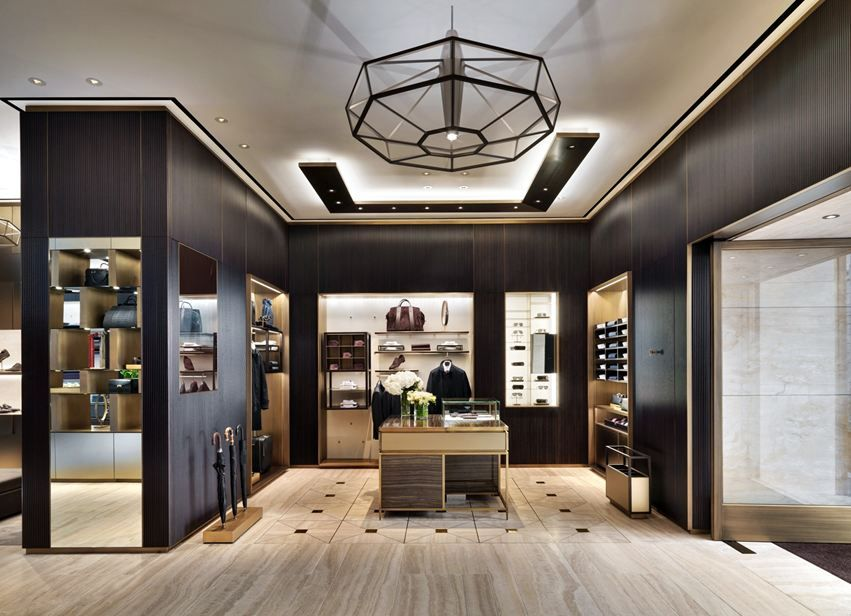 Brioni flagship store milano picture gallery store for Milano design shop