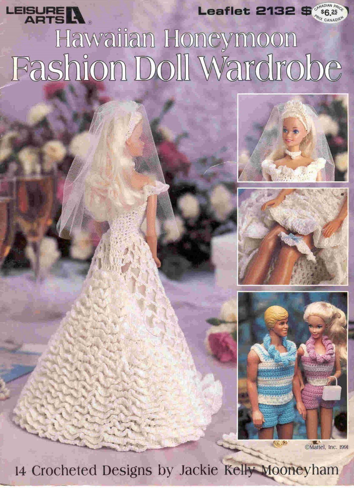 Pin by Dollie Downey on Crochet Patterns   Barbie gowns, Barbie