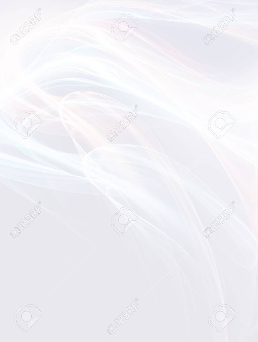 abstract white background with smooth lines ,