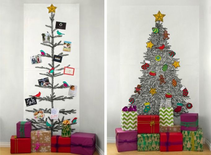35 alternative christmas tree decoration ideas 2017 - Alternative Christmas Tree Decorations