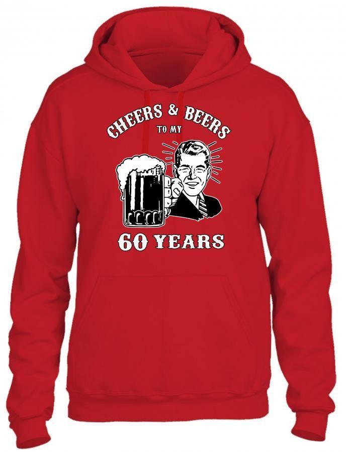 cheers and beers 60 HOODIE