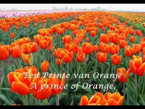 Het Wilhelmus National Anthem Of The Netherlands As A Child In Grade School We Learned This Song Tulip Fields Flower Field Orange Tulips