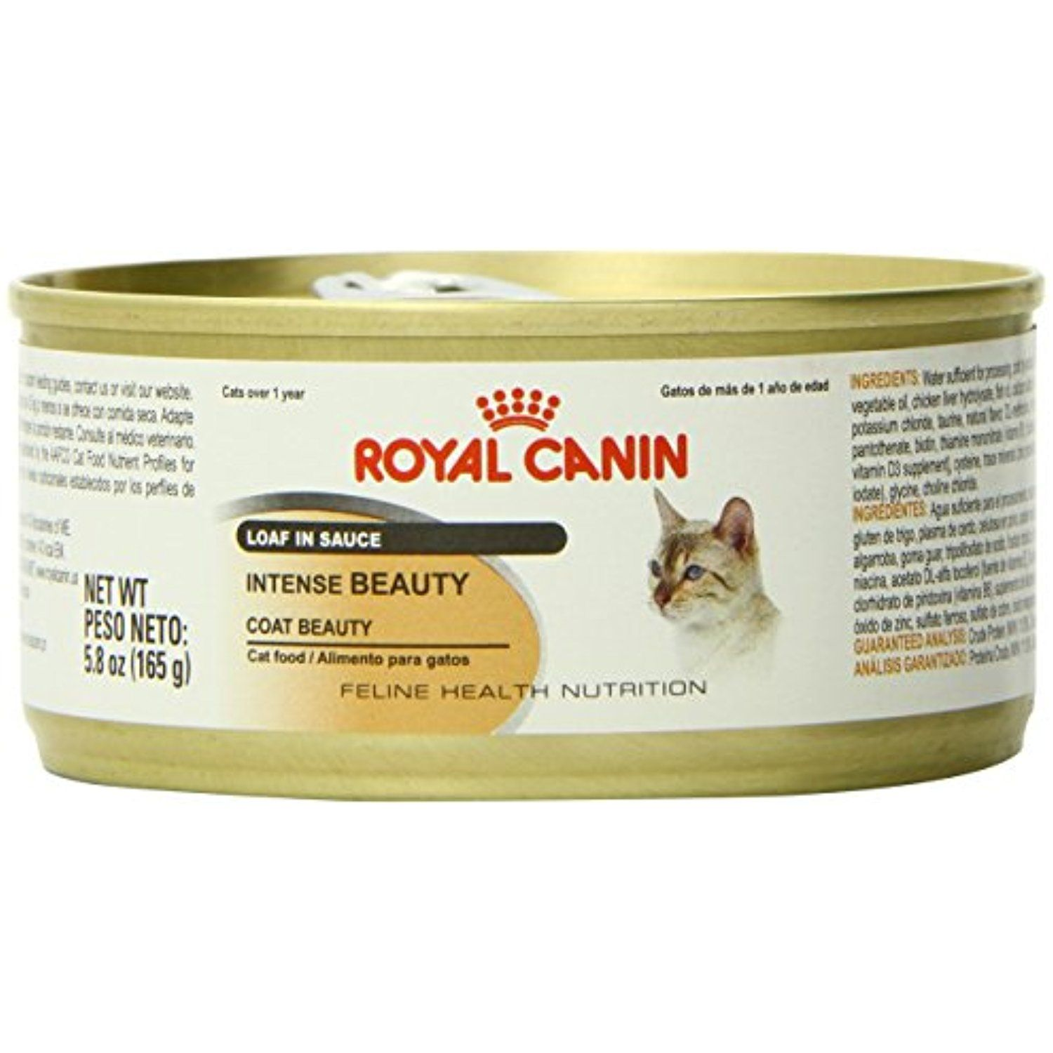 Royal Canin Feline Health Nutrition Intense Beauty Loaf In Sauce Canned Cat Food 24 Pack 5 8 Oz One Size Mor Cat Nutrition Feline Health Canned Cat Food