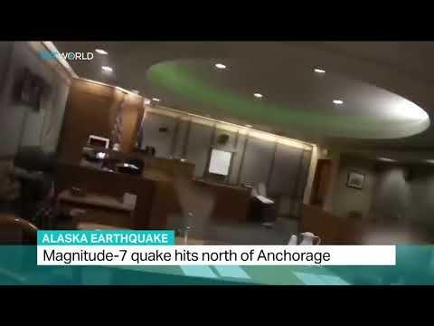 زلزال مدمر بقوة 7 ريختر يضرب منطقة آلاسكا بسبب اقتراب كوكب نيبيرو