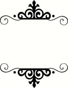 Marcos vintage png buscar con google fondos for Espejos con marcos decorativos