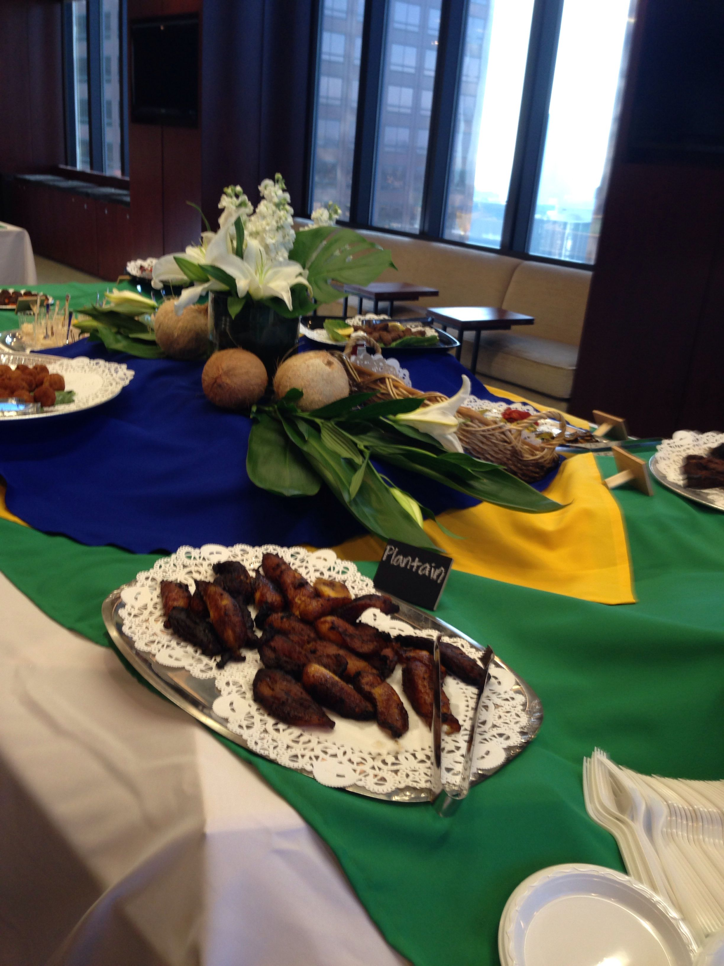 Brazilian Themed Party