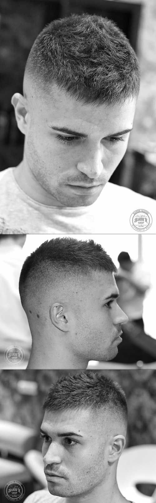 13 Army Style Short Haircuts For Men Mens Haircuts Short Haircuts For Men Military Haircut