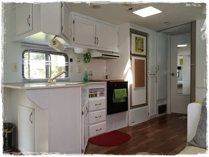 This Family Saved A 1997 Prowler Trailer From The Grave Travel Trailer Remodel Trailer Remodel Vintage Travel Trailers