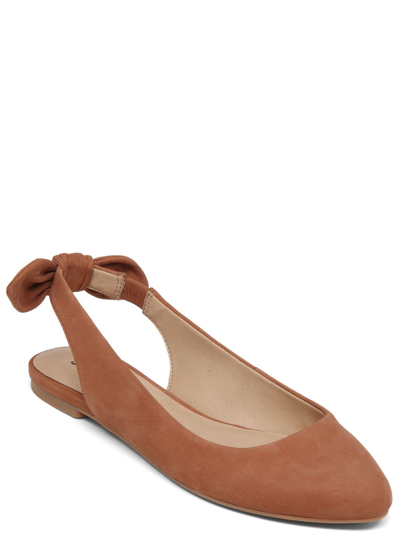"Thanks to the softer-than-ever elastic heel, these require no ""breaking-in"" period. $69, Lucky Brand.   - Redbook.com"
