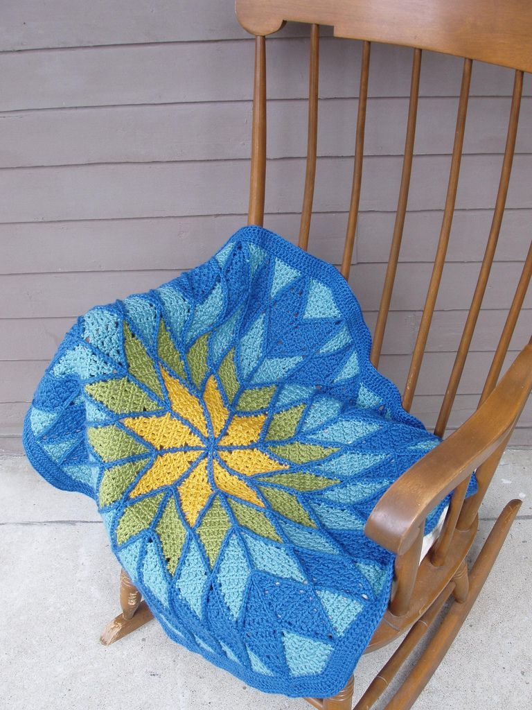 crochet by faye: Reims Baby Quilt