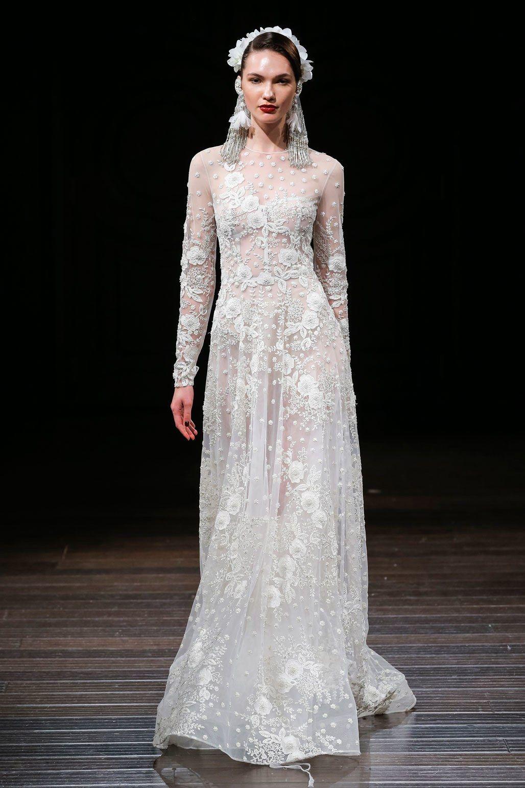 Naeem khan bridal fall fashion show naeem khan model photos