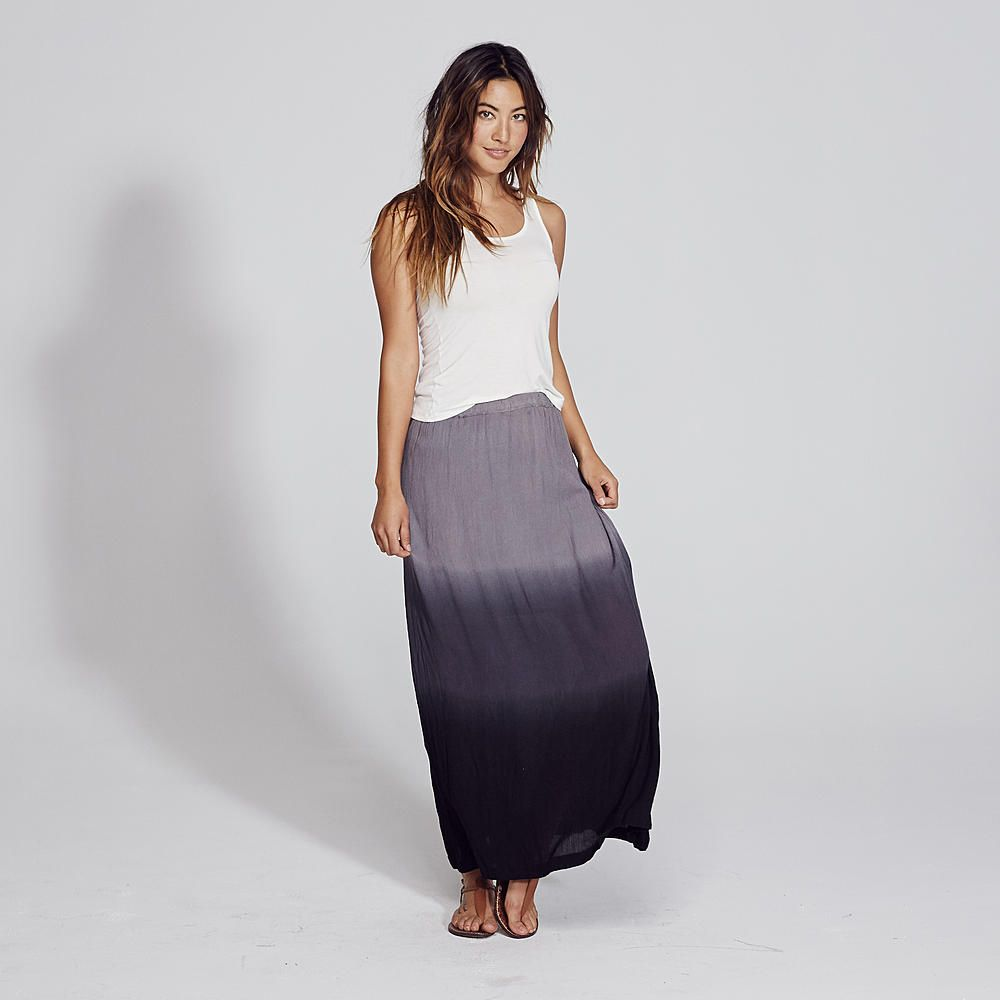 White apron kmart - Adam Levine Women S Dip Dye Maxi Skirt Kmart