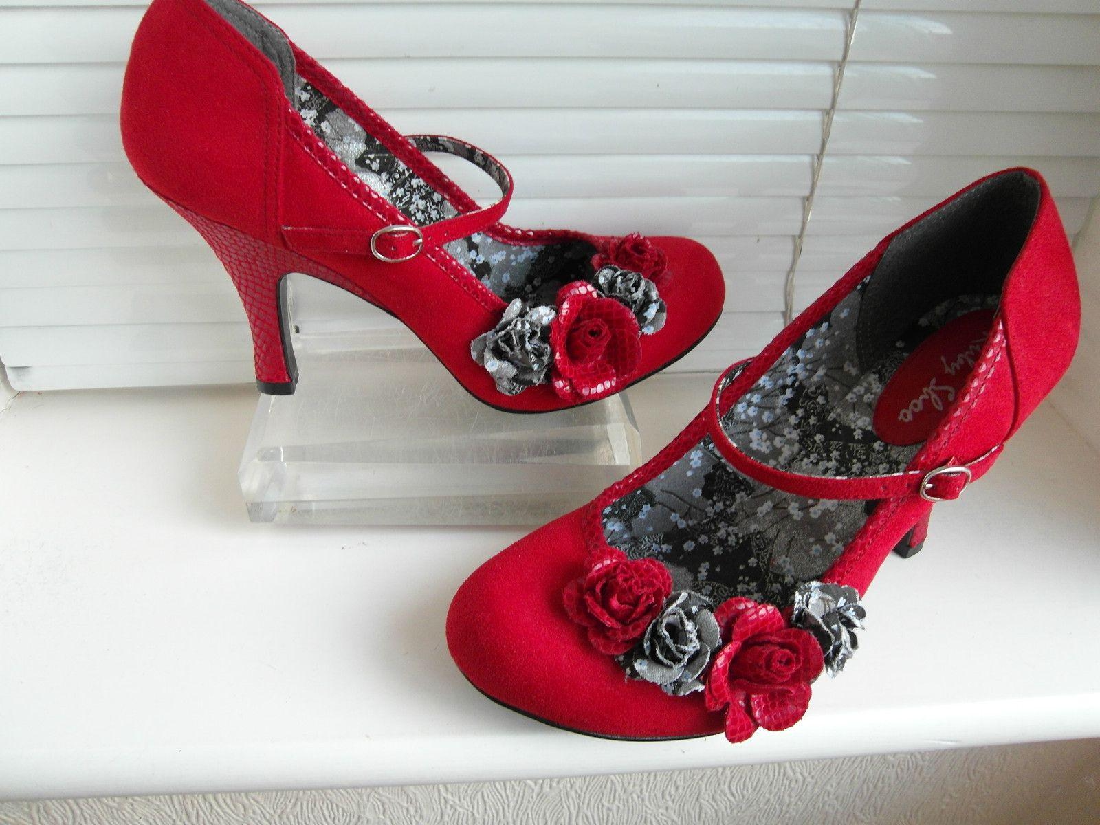 33f7fb08 Size 8 (41) Red RUBY SHOO O'HARA Strap Shoes | I love Ruby Shoo ...