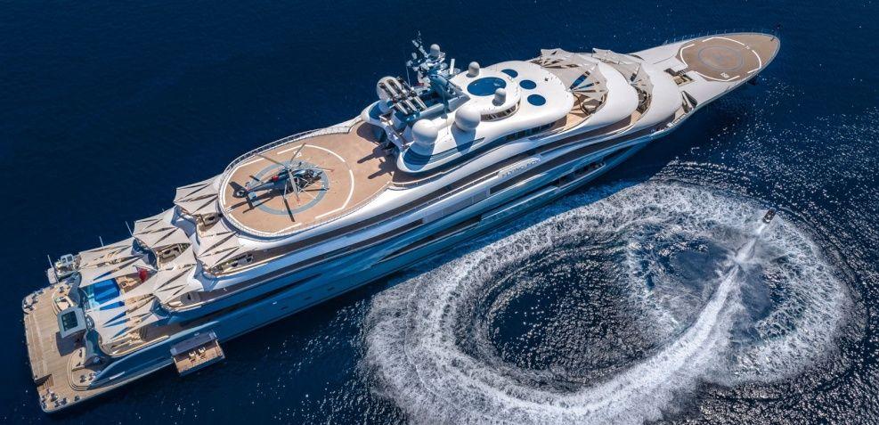 Flying Fox Yacht Charter Price Lurssen Luxury Yacht Charter In 2020 Motor Yacht Luxury Motor Luxury Yachts