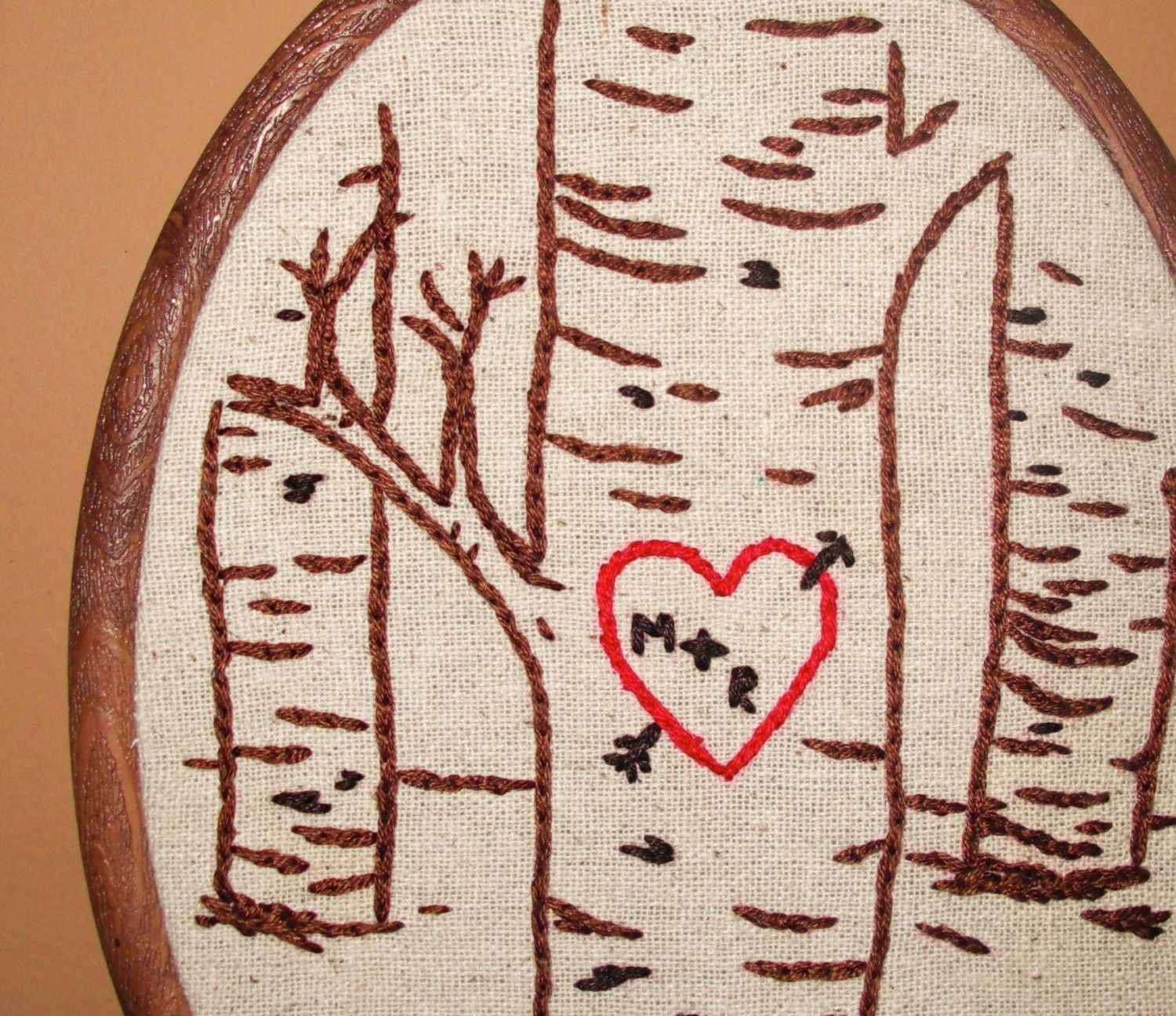 Tree Embroidery Initials Google Search Bff Gettin Hitched