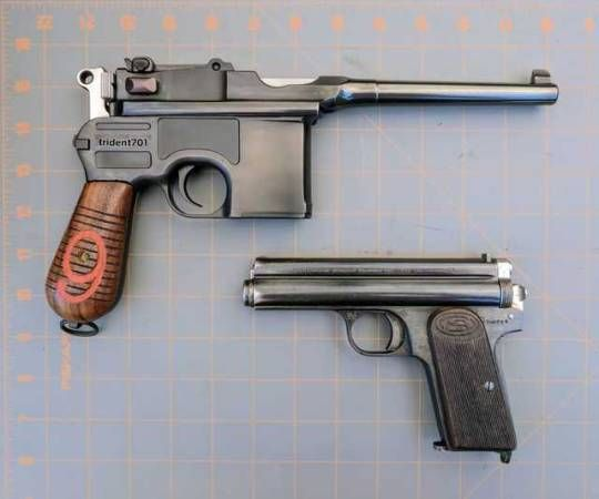 german mauser c96 9mm hungarian frommer stop 7 62mm things i