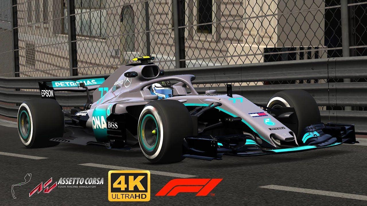 ASSETTO CORSA F1 2018 Monaco Mercedes AMG F1 W09 EQ Power+