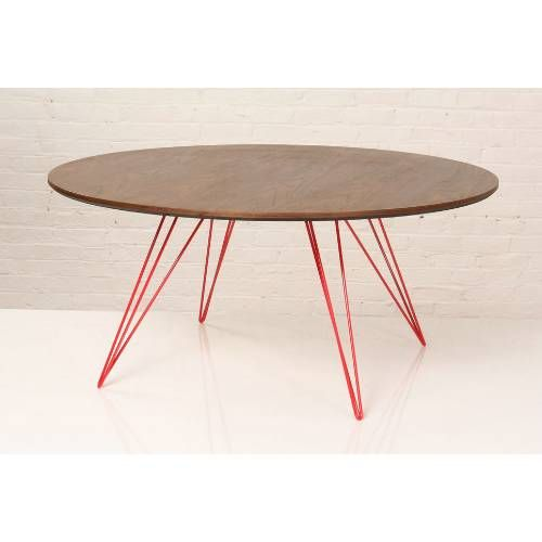 Tronk Design Wil Cof Wal Sm Cir Gn Williams Small Circle Coffee Table