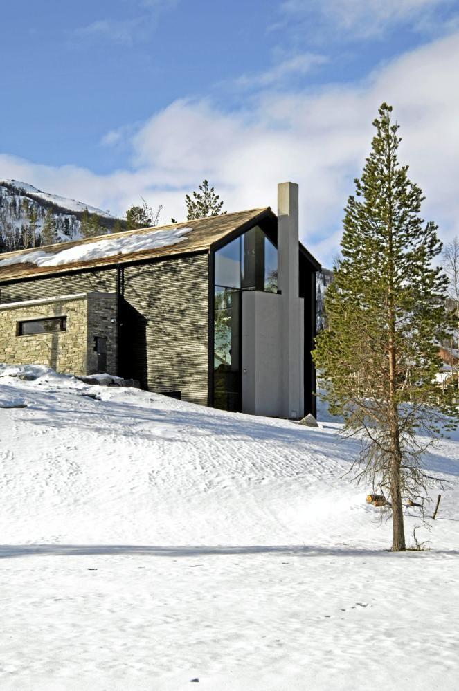 Une chalet design en montagne   Chalet   Chalet, Chalet montagne et ...