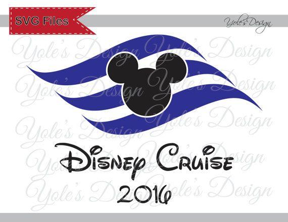 Disney Cruise SVG Logo Mickey Ears Costume Badge by