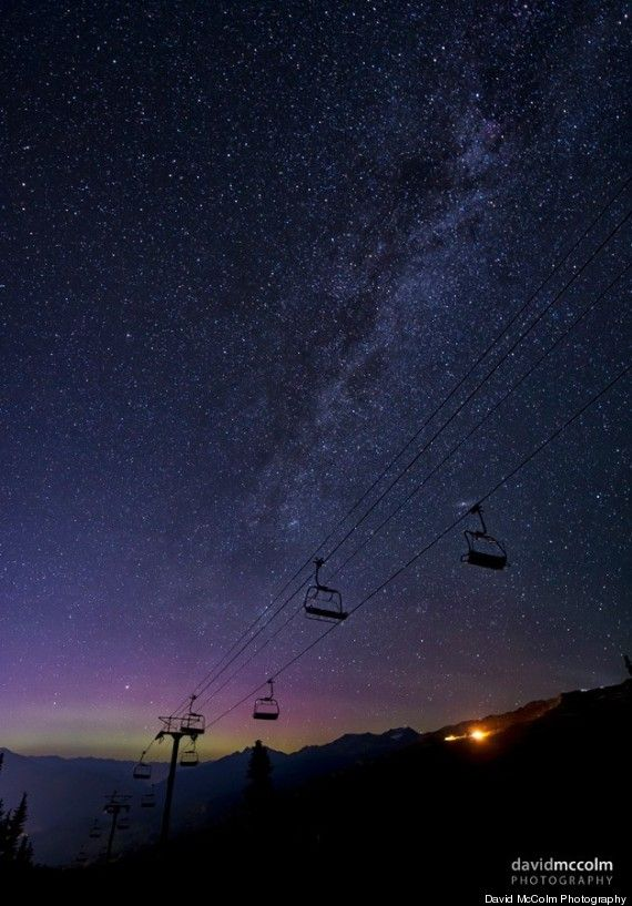 Whistler, Bc, Northern Lights July 2014