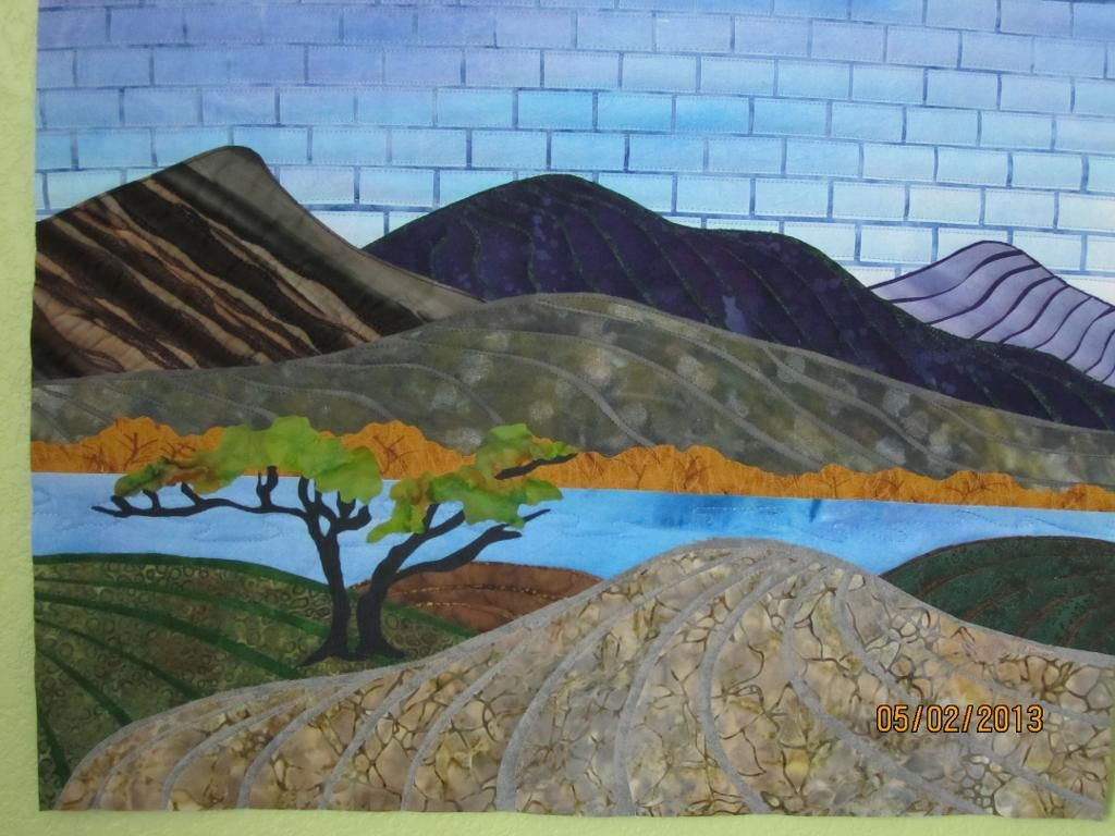 Linear Landscape Quilts | Landscape quilts, Fabric postcards and Craft : landscape quilting fabric - Adamdwight.com
