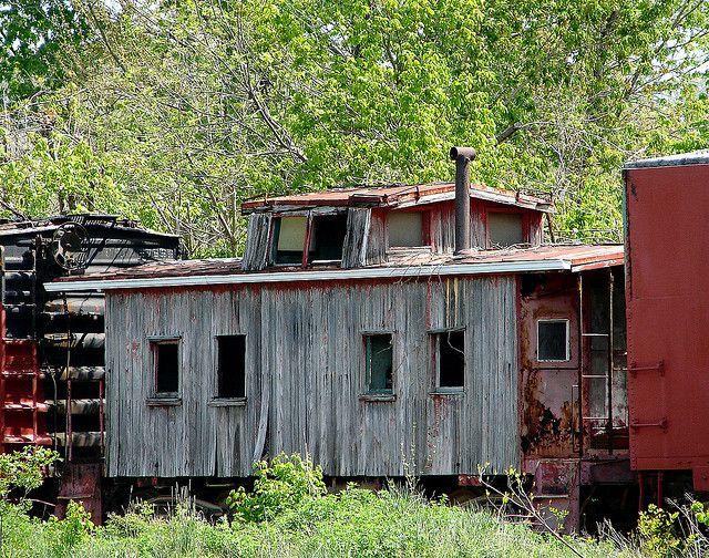 Ye Olde Caboose | Cabooses | Train car, Abandoned train