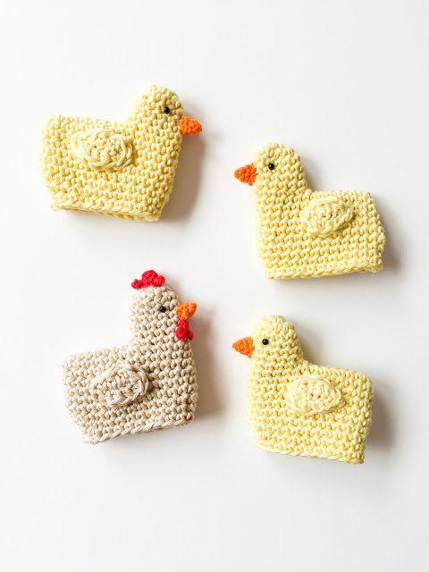 Photo of Eine Anleitung für gehäkelte Küken als Eierwärmer zu Ostern