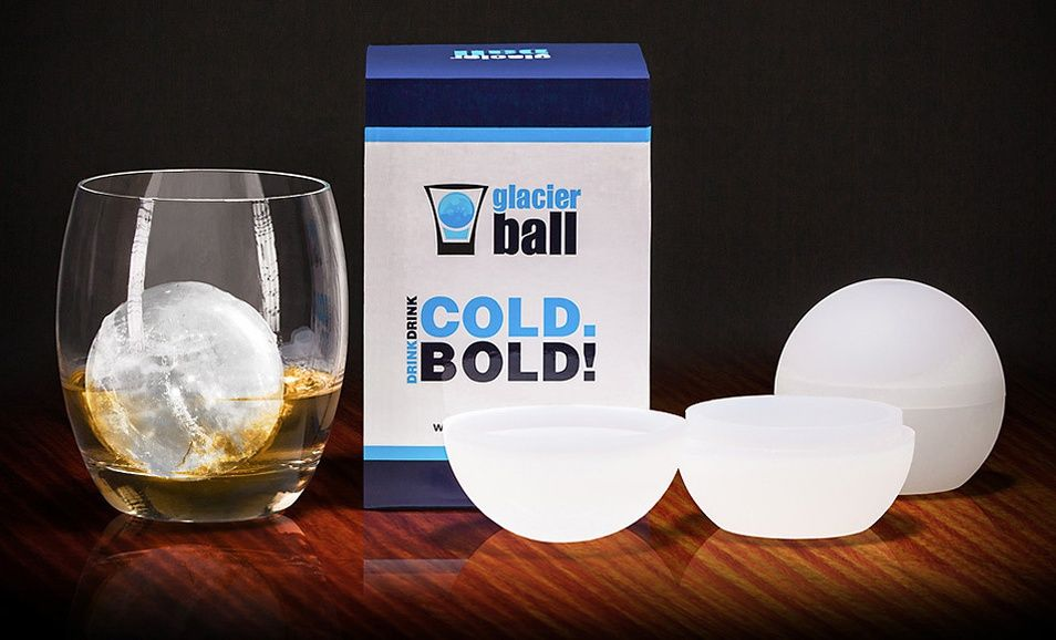 how do you make clear ice balls