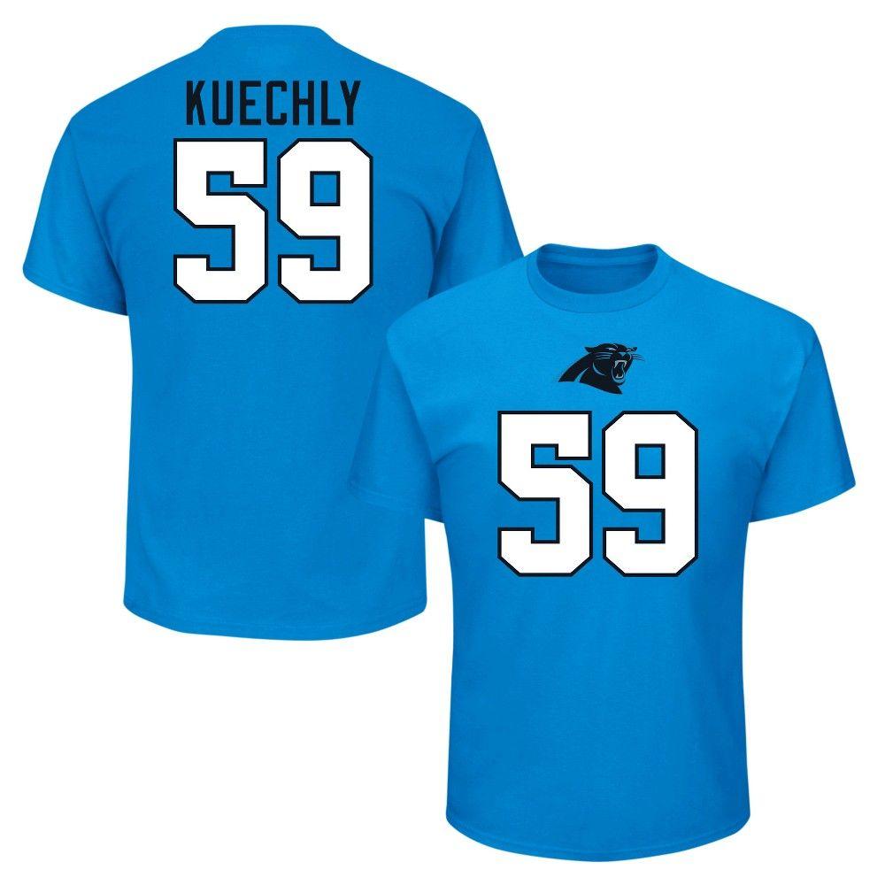 best website 5f742 082bb Carolina Panthers Men's Luke Kuechly Jersey T-Shirt - Xxl ...