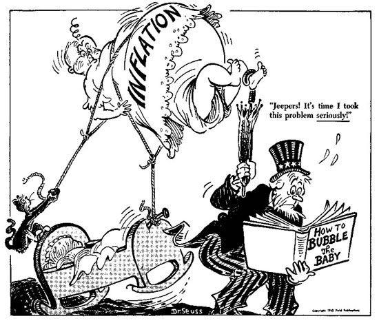 Dr. Seuss on wartime economics