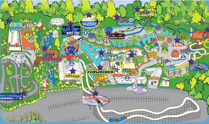 waterpark amusement park attractions waterville usa gulf shores al