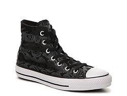 Converse Chuck Taylor All Star Rose Print High-Top Sneaker - Womens