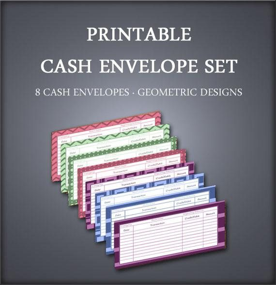 cash envelopes budget envelope system petty cash printable