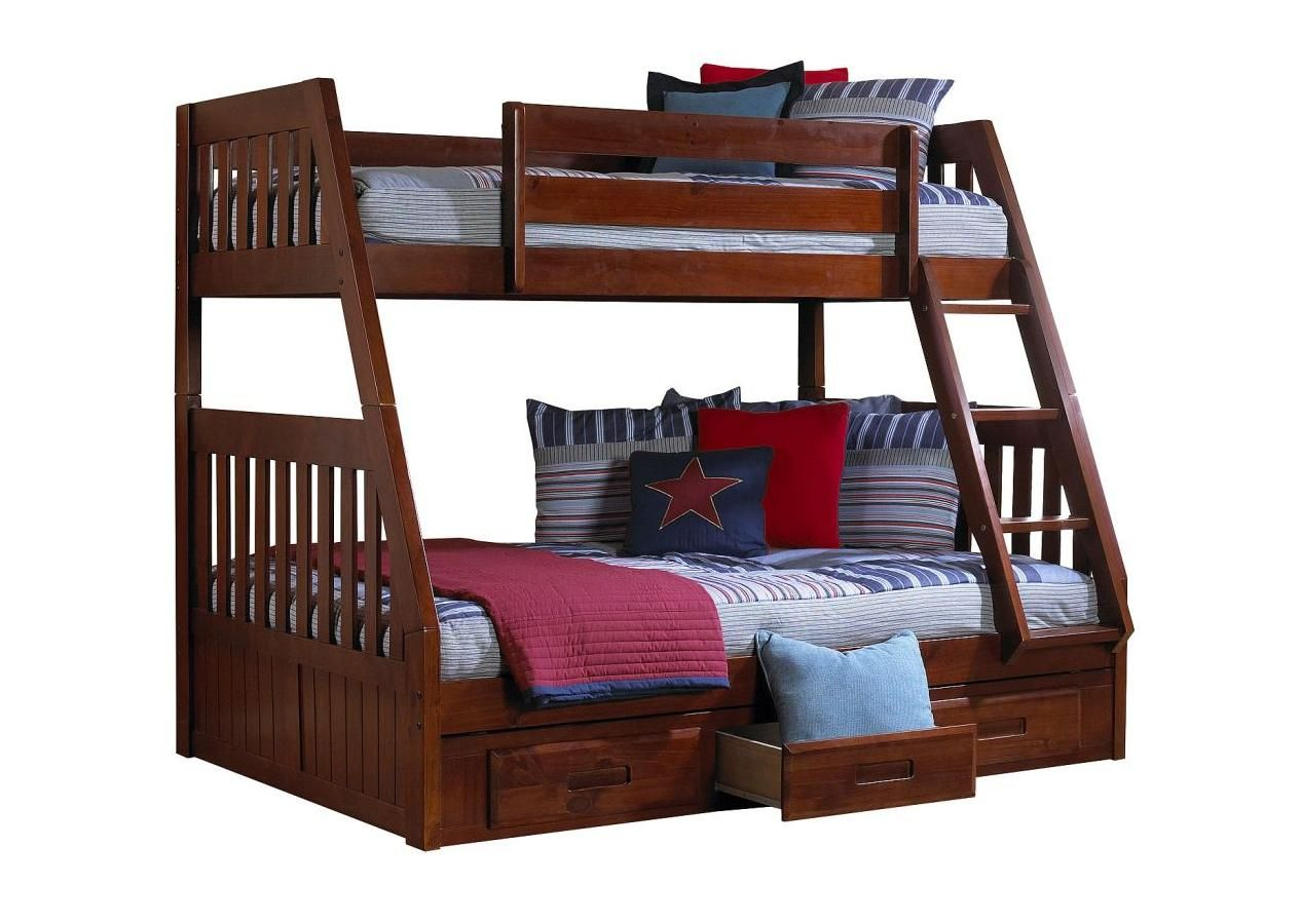 Best Carl S Furniture City Mission Twin Over Full Bunkbed 400 x 300