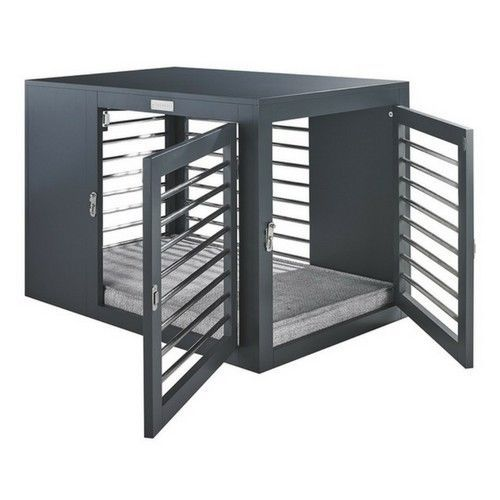 The Sleek And Sophisticated Moderno Dog Crate By Bowsers Pet Products Is A Functional Eye