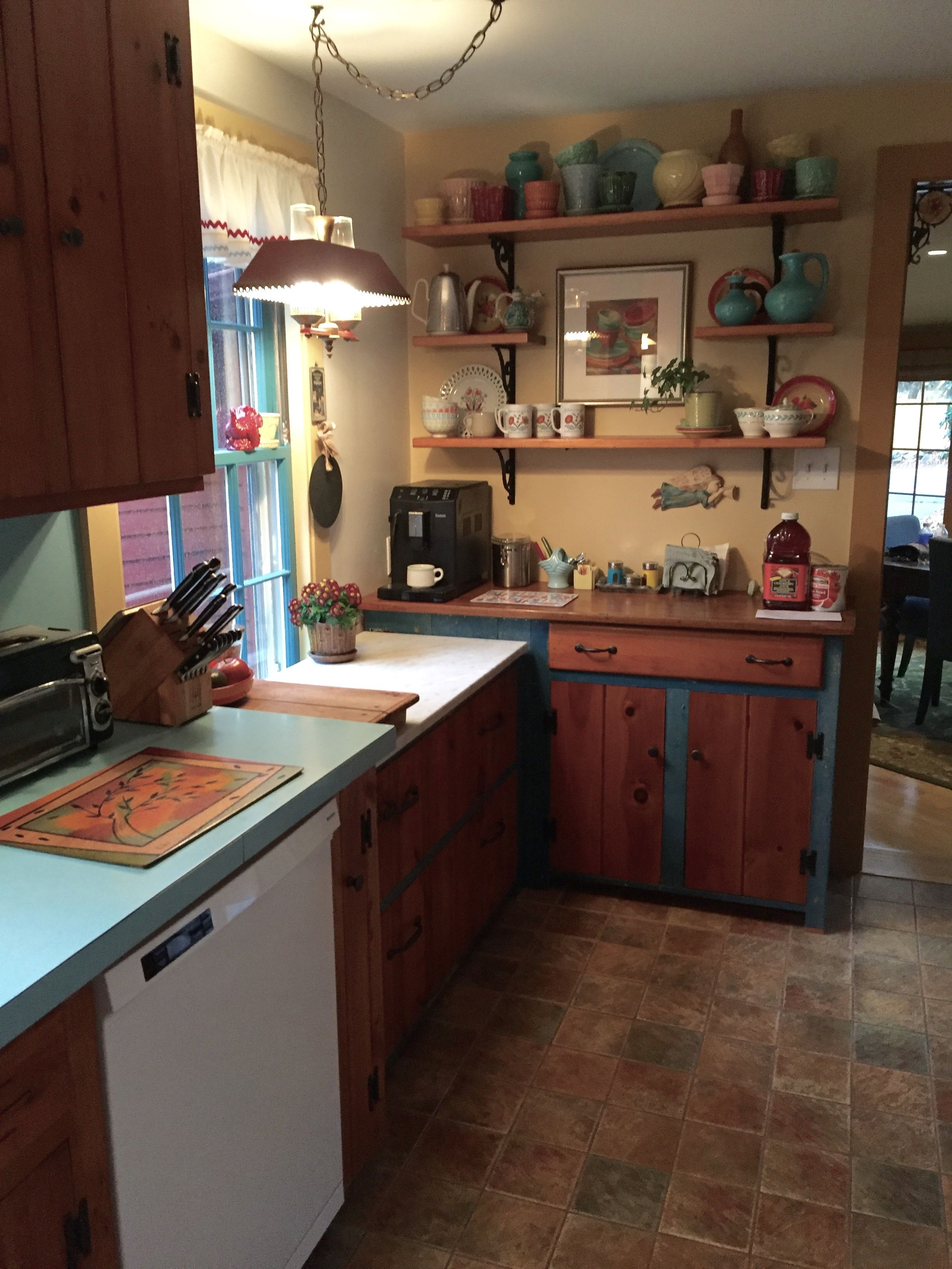 Kitchen Update Save The Knotty Pine Pine Kitchen Knotty Pine Kitchen Updated Kitchen