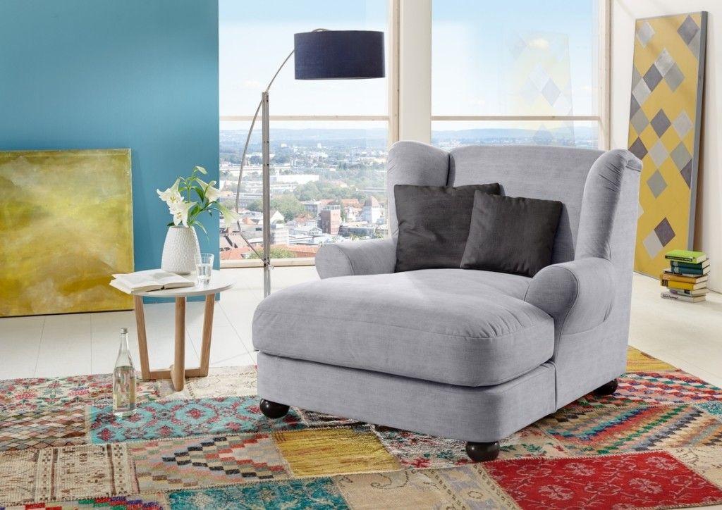 Steinpol Sit \ More Big Sessel grau - Möbel Mit wwwmoebelmitde - design armsessel schlafcouch flop