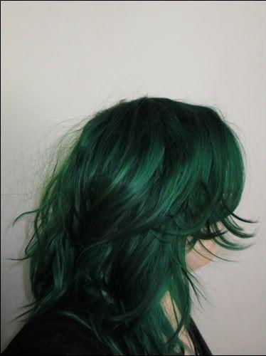 Directions Alpine Green … | Dark green hair