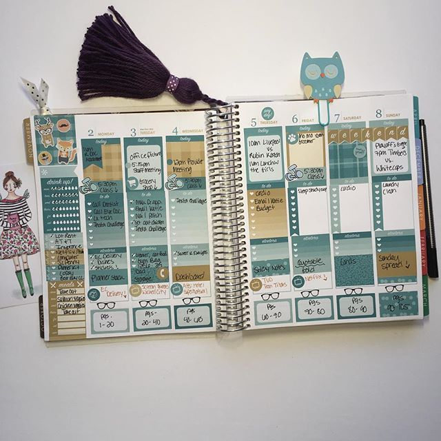 My week so far in my #erincondren ❤️ #ecplanner #ecplannerlove #erincondrenlifeplanner #plannergirl #plannerlife #plannerlove #plannernerd #plannerchick #planner #plannerjunkie #planneraddict #plannerobsessed #layout #plannercommunity