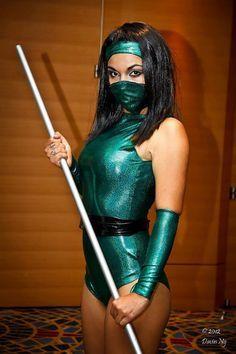 Mortal Kombat Jade Costume Women's L 1012 by GamersEtc on Etsy .