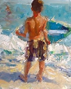Summertime © by Marian Pacsuta Oil ~ 8 x 6