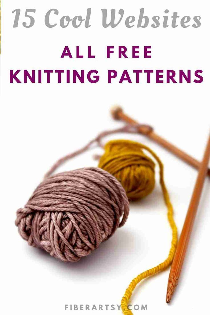 Free Knitting Patterns: 15 Great Websites