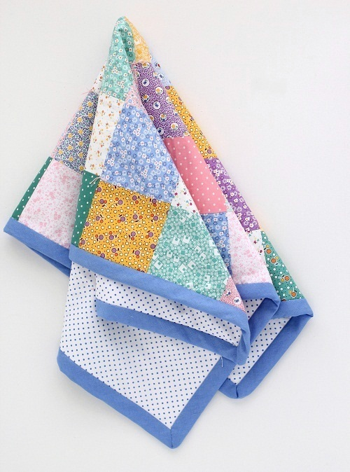 Sonunda Bitti - My First Patchwork Baby Blanket