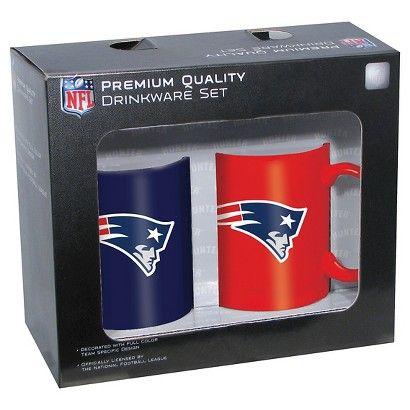 New England Patriots Mug 2pk