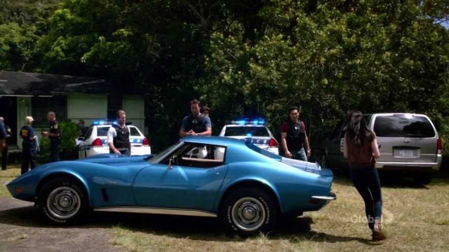 Lt Catherine Rollins Car In Hawaii 5 0 1973 Corvette Stingray
