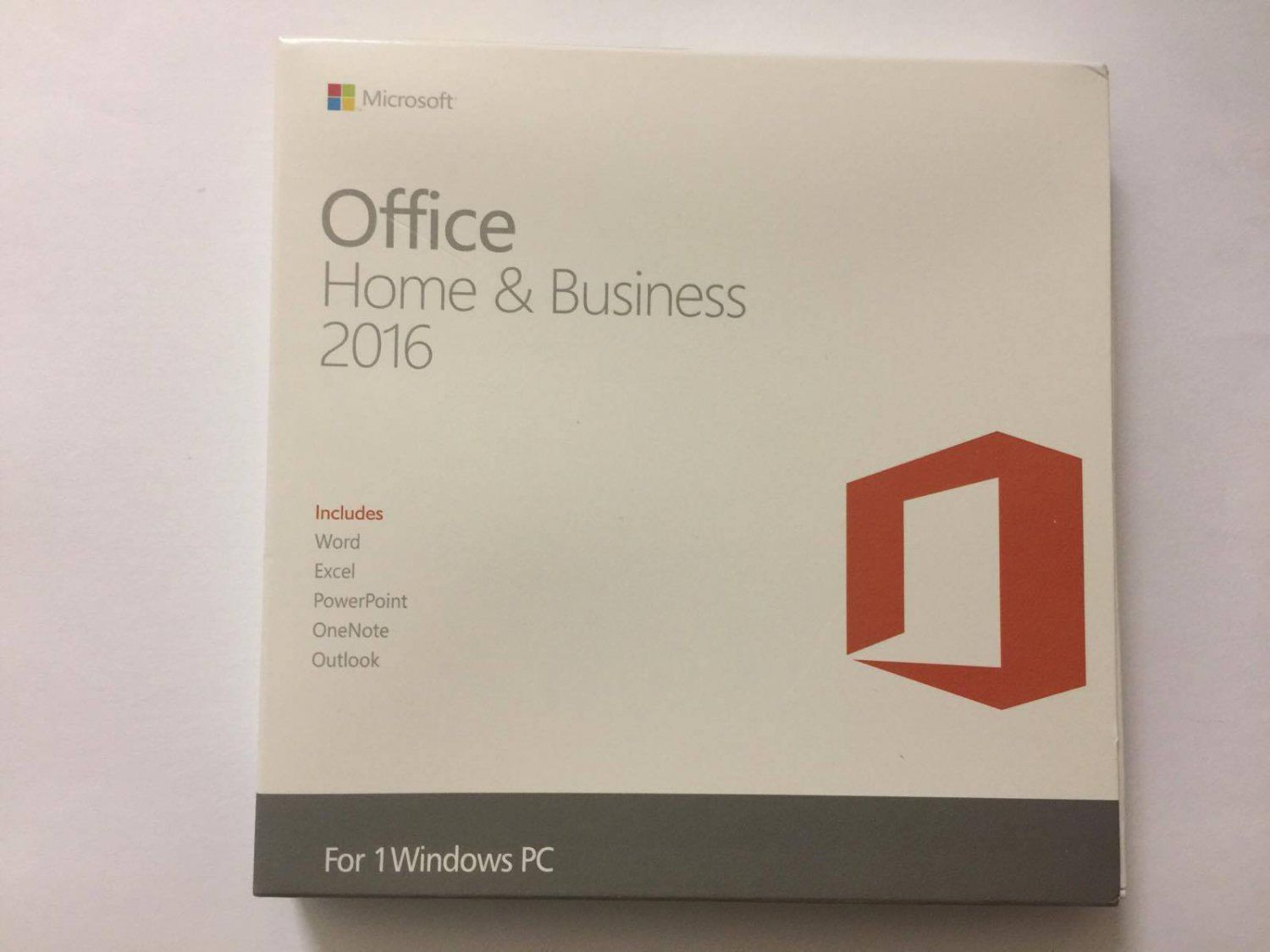 OFFICE+Home+And+Business+2016+1PC+For+WINDOWS+NEW+SEALED+BOX+-+PKC ...