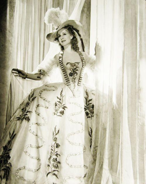 "vintagegal:  Norma Shearer as ""Marie Antoinette"" 1938"